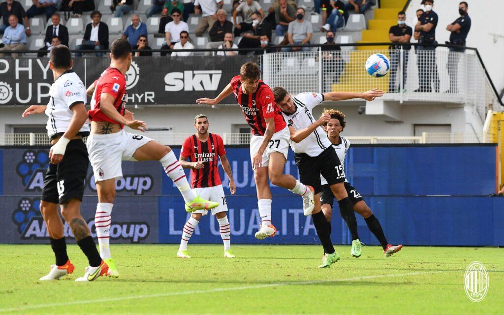 Spezia vs Milan