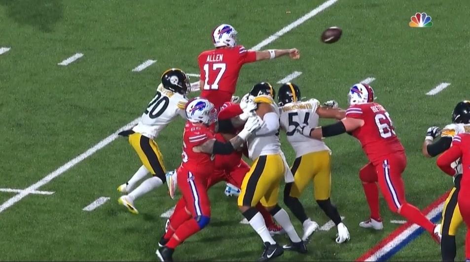 Steelers vs Bills