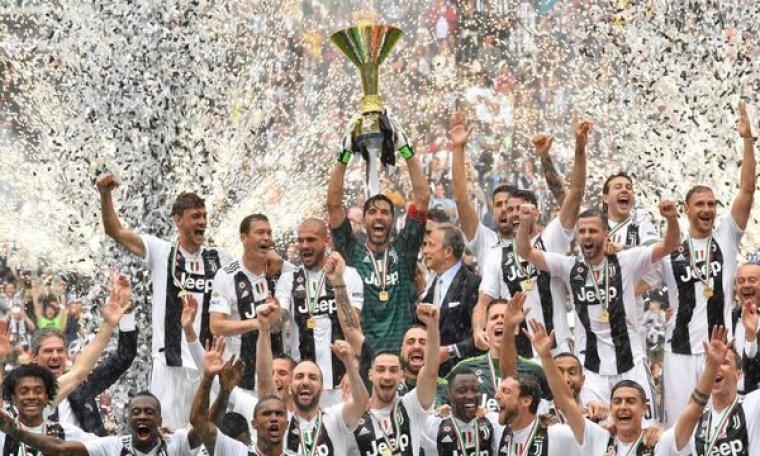 Juventus campeón Serie A 2018
