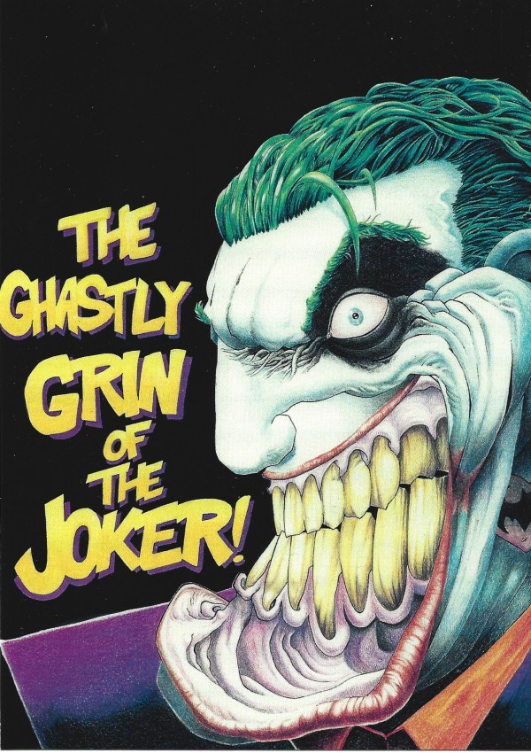 Ghastly Grin of the Joker