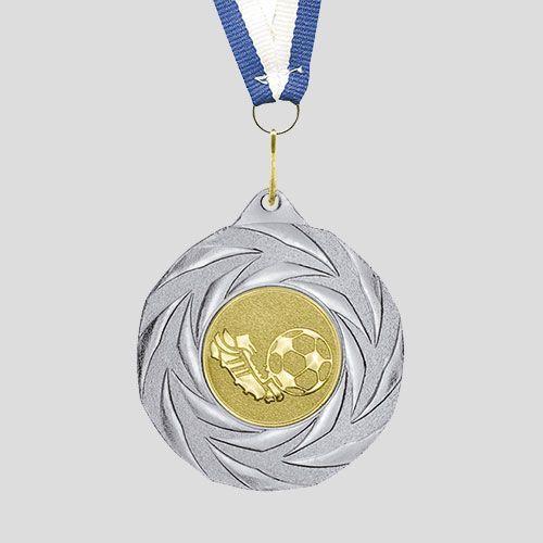 medalla futbol