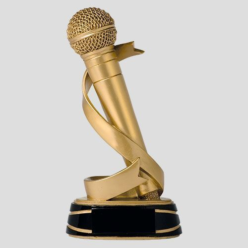 trofeo microfono