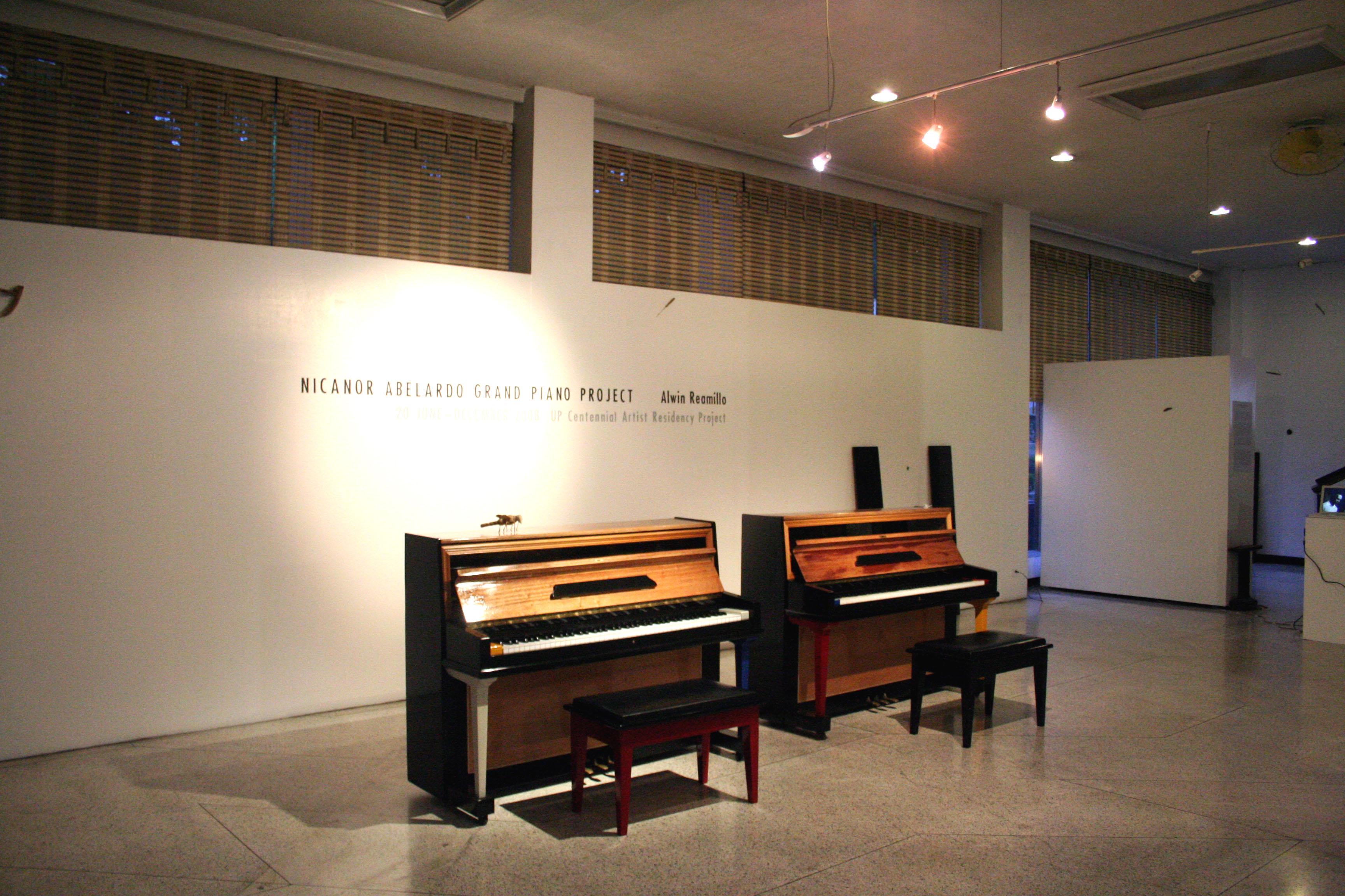 Nicanor Abelardo Grand Piano Project Exhibit Opening