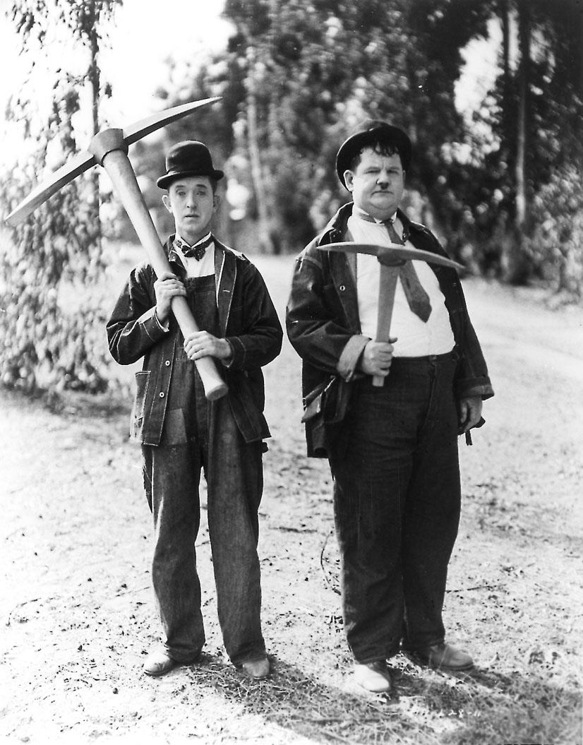 Laurel et Hardy, eux, ils sont unis.