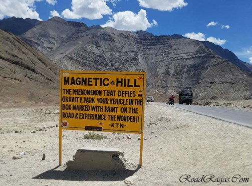 The Truth Behind the Mysterious Magnetic Hill of Ladakh - Vargis Khan