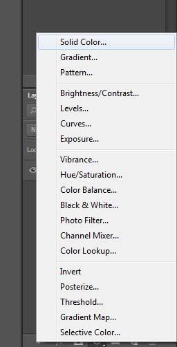 Photoshop Basics - Solid Color Adjustment Layer - Vargis Khan