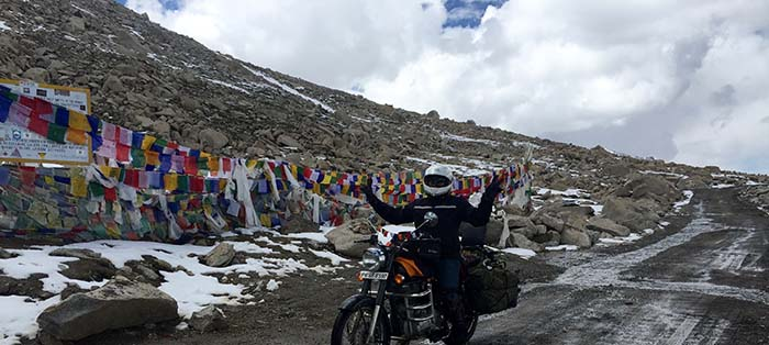 Information on riding to Ladakh with a pillion