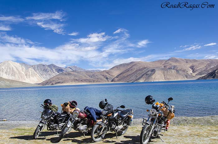rent a motorcycle in Leh