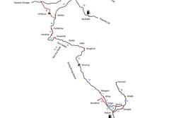 Zanskar Valley Road Map