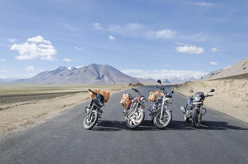 how to prepare your motorcycle for ladakh