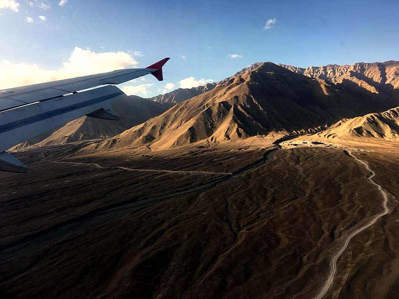 ladakh by flight