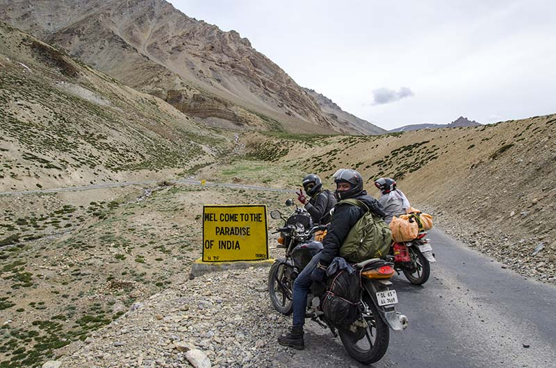 ladakh bike rental rates