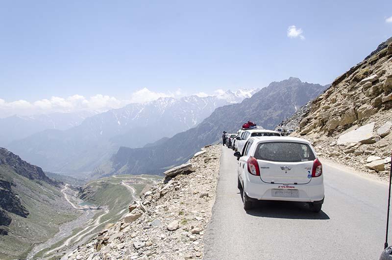 spiti valley road condition