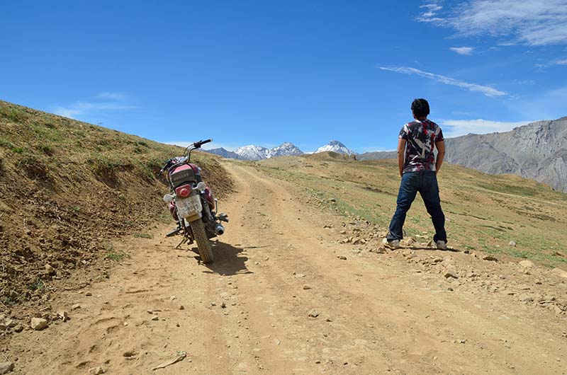 Spiti valley Bike Trip with Pillion
