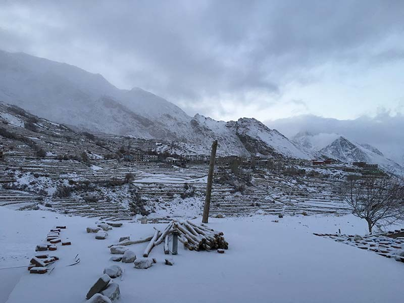 spiti valley in january