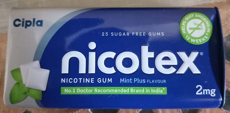 does nicotine gum help quit smoking