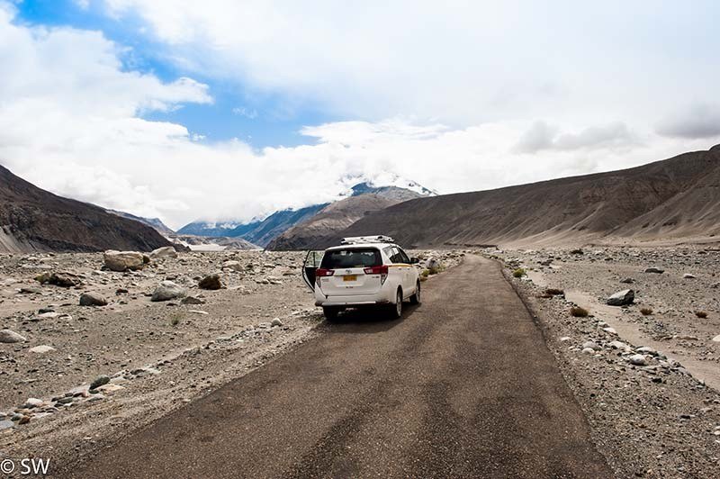Nubra Valley to Pangong Lake via Shyok