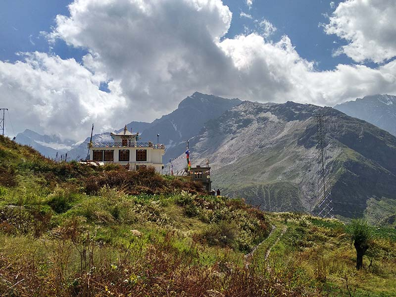 labrang gompa in lahaul valley