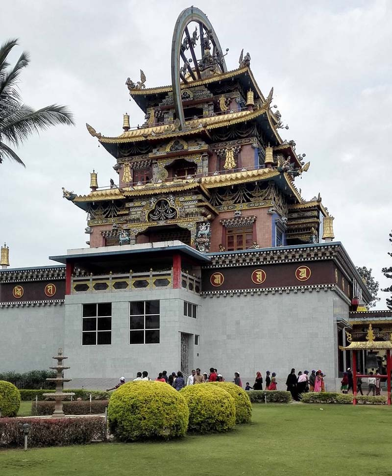 buddhist monastery in coorg