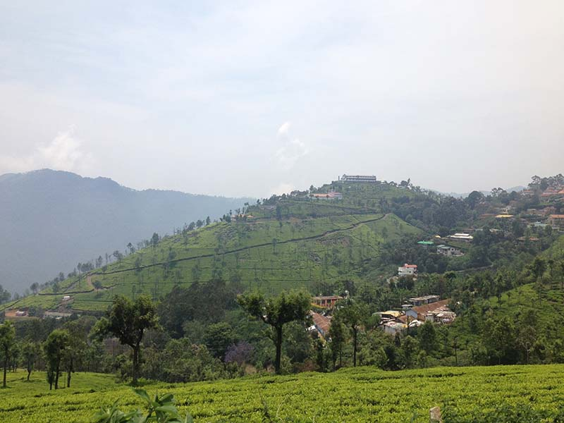 landscape view of mysore coorg ooty