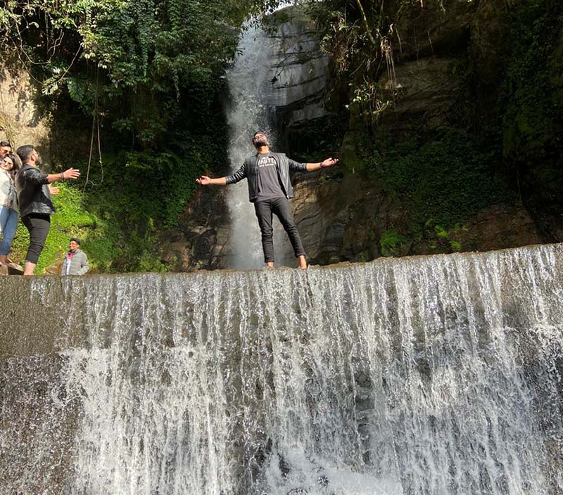 ban jhakri waterfall