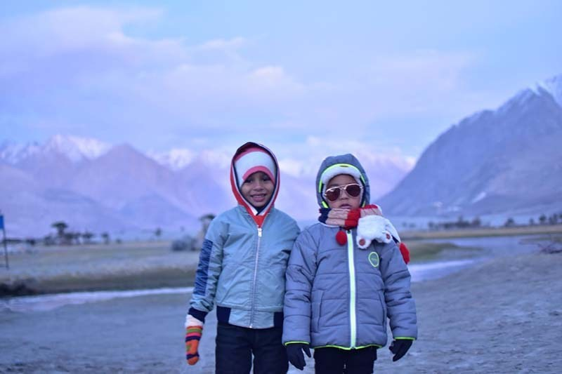 spiti valley with family