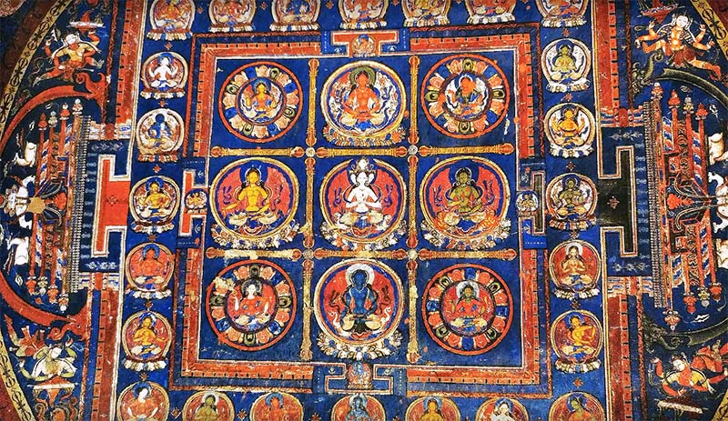 paintings in alchi monastery