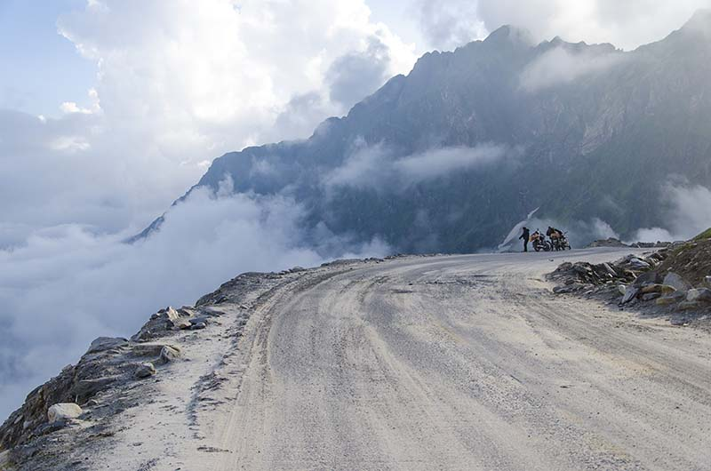 rohtang pass in august