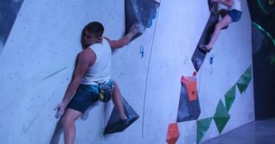 Дълъг боулдър уикенд на стената в Софийския тази седмица