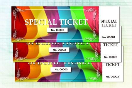 スペシャル チケット special ticket