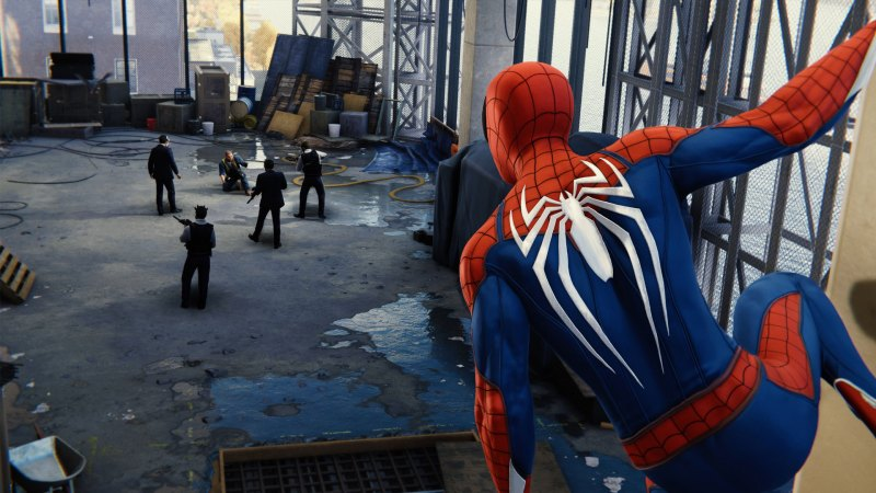 What is raytracing- Spider-man faked reflections
