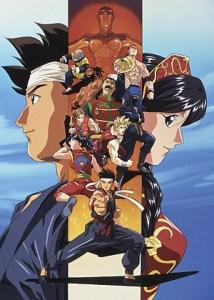 video games anime adaptation virtua