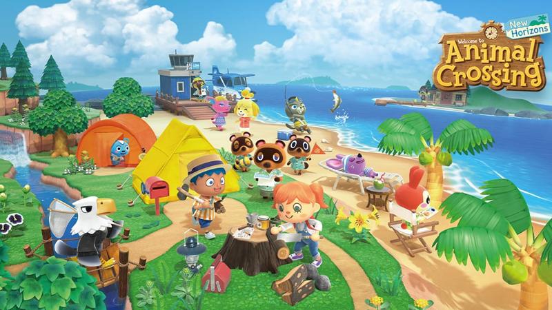 start video games animal crossing