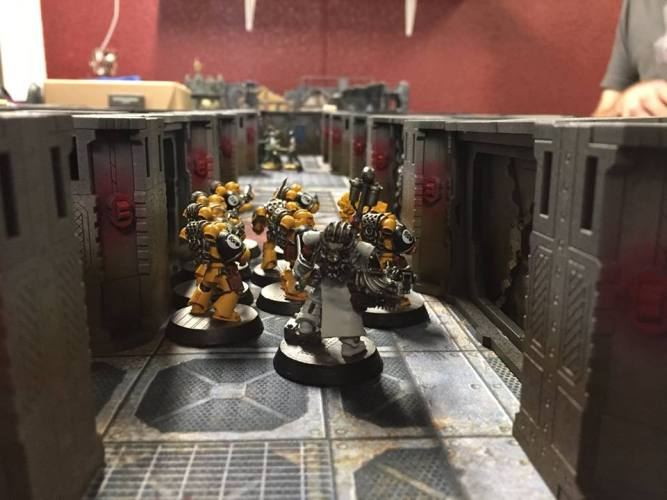CQB: Draft Rules for 8th Edition Zone Mortalis