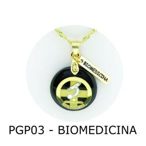 Pingente de Profissão Biomedicina com Resina – PGP03