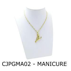 Conjunto Cordão e Pingente de Profissão Manicure sem Resina – CJPGMA02