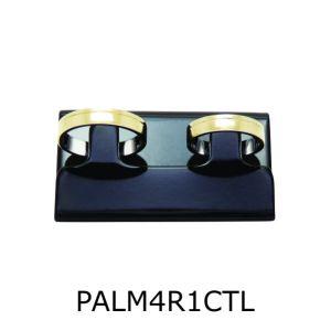 Par de Aliança de Moeda Antiga Reta 4MM com Revestimento em Prata com 1 Canaleta no Torno Lateral – PALM4R1CTL