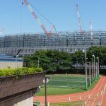 東京2020オリンピックの会場となる新国立競技場