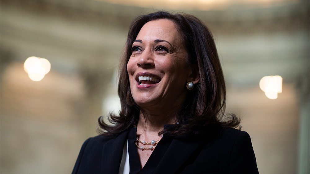 Kamala Harris Becomes First Female Vice President in American History