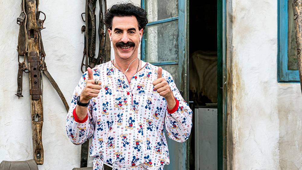 'Borat 2' Drew 1.6 Million U.S. Households in Opening Weekend, Data Researcher Estimates