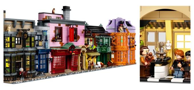 Harry Potter Diagon Alley Legos