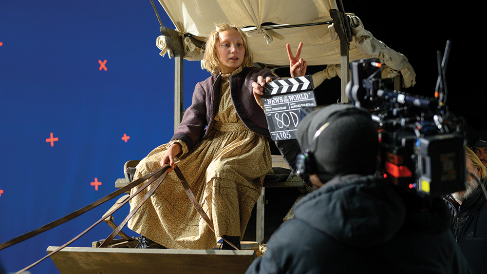 'News of the World's' Helena Zengel on Working With Paul Greengrass and Tom Hanks