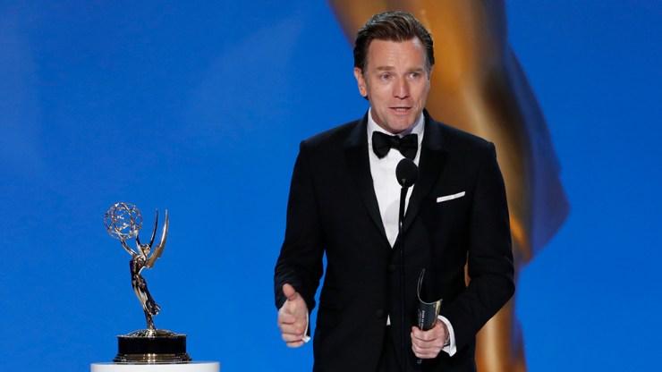 Ewan McGregor Emmy Win