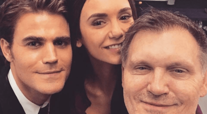 Nina Dobrev Back on Set of 'The Vampire Diaries' See the photos!