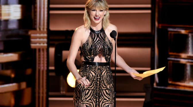 "Taylor Swift Reacts to Winning Her First Song of the Year CMA Award for ""Better Man"""
