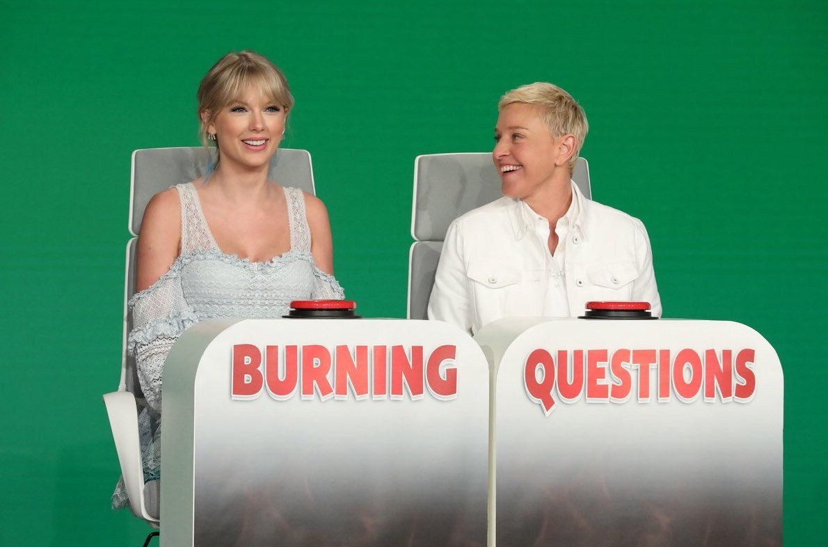 Taylor Swift Tells Ellen the Most Rebellious Thing She Did as a Teenager and it Involves Joe Jonas!