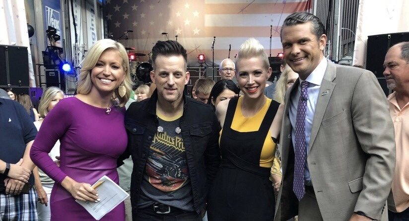 THOMPSON SQUARE ROCK FOX & FRIENDS' ALL-AMERICAN CONCERT SERIES!