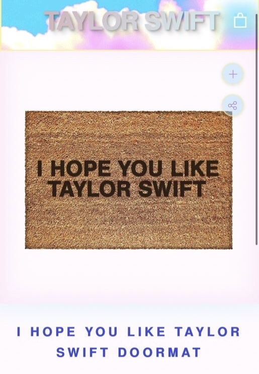 "A Fan Wanted a ""I Hope You Like Taylor Swift"" Doormat and T.S. Delivered!"