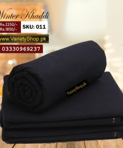 Goli Khaddar Winter Collection - Dark Navy Blue color