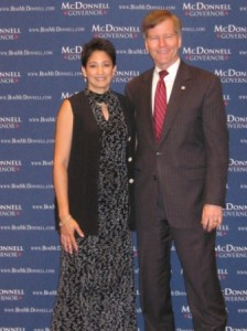 Melody Scalley Republican Candidate for 100th House District with Bob McDonnell